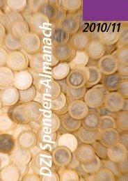 DZI Spenden-Almanach 2010-11 - Deutsches Zentralinstitut für ...