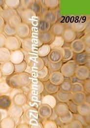 DZI Spenden-Almanach 2008-9 - Deutsches Zentralinstitut für ...