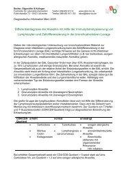 Differentialdiagnose der Alveolitis mit Hilfe der ...