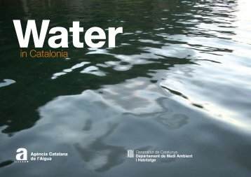 Water in Catalonia - Generalitat de Catalunya