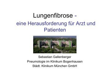 Lungenfibrose -