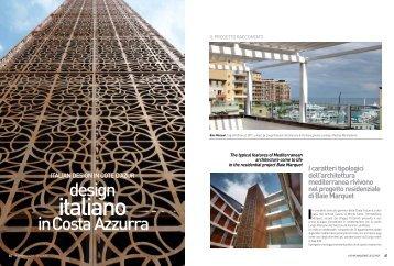 design in Costa Azzurra - longo palmarini architecture & partners