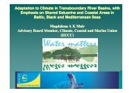 Adaptation to Climate in Transboundary River Basins, with - EUCC
