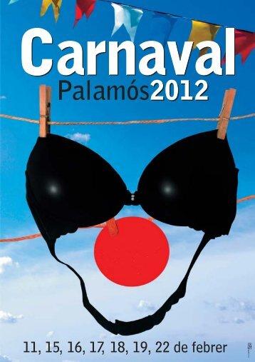Programació Carnaval Palamós 2012 ELECTRODOMÈSTICS