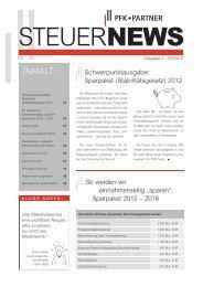 SteuerNews 01   2012 - PFK+Partner