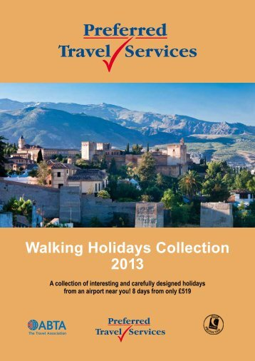 Summer Walking (Feb-Nov) - Preferred Travel Services