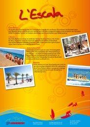 Costa Brava L´Escala Action& Beachlife Nightlife - GO Jugendreisen