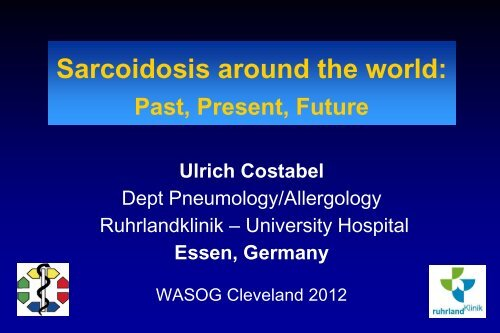 Sarcoidosis - Cleveland Clinic Center for Continuing Education