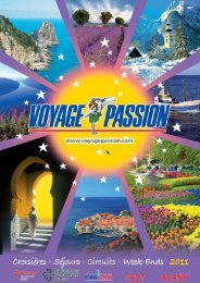 VOYAGE PASSION 2011 bis_Mise en page 1 - les Courriers ...