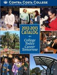 2012-2013 Catalog - Contra Costa College