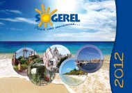 le catalogue de location de vacances sogerel 2012