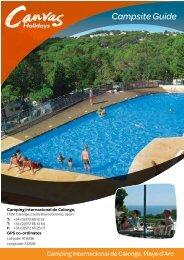 Campsite Guide - Canvas Holidays
