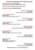 Temple de Cossonay - Fondation Aura Musicae - Page 3