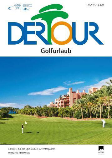 Golfurlaub - Dertour