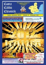 January 2012 - Costa Calida Chronicle