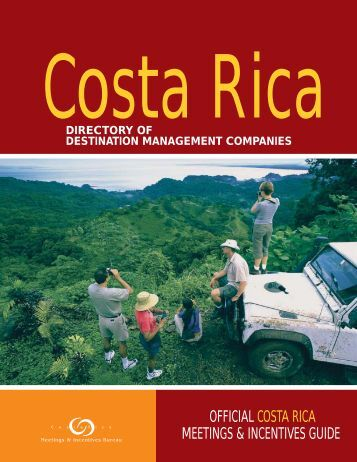 Destination Management Companies - Costa Rica