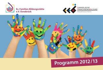 Jahresprogramm 2012/13 - Ev. Fabi