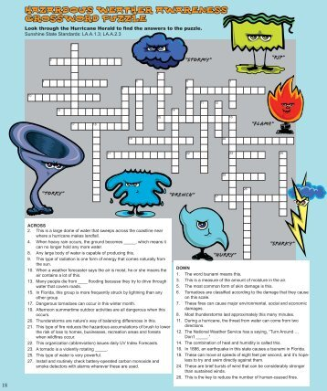 Words on the World (crossword puzzle) - Monroe County