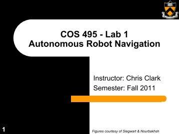 COS 495 - Lab 1 Autonomous Robot Navigation