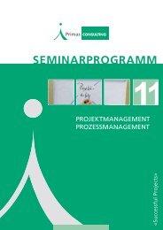Seminarprogramm 2011 - Primas Consulting