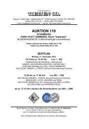 AUKTION 110 - Auktionshaus Tietjen+Co