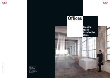 DORMA Offices brochure - DORMA Door Closers, Sliding Doors ...