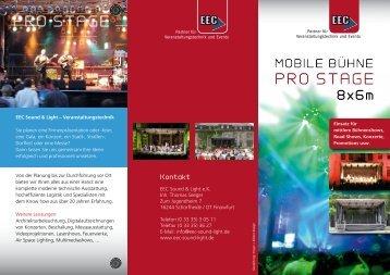 PRO STAGE PRO STAGE - EEC Sound & Light