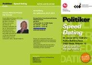 Politiker Speed Dating - Evangelischen Erwachsenenbildung ...