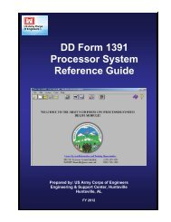 DD Form 1391 Processor System Reference Guide - Engineering ...