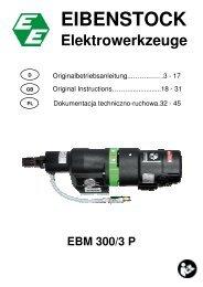 EBM 300-3 P de - Eibenstock