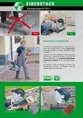 Steintrennsäge EST 350.1 mit Anlaufstrom- begrenzung - Eibenstock - Seite 2