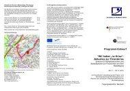 """Programm-Entwurf """"Wir haben 'ne Krise"""": Aktuelles zur Finanzkrise"""