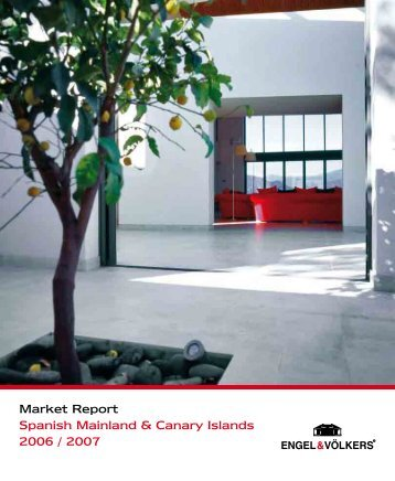 Market Report Spanish Mainland & Canary ... - Engel & Voelkers