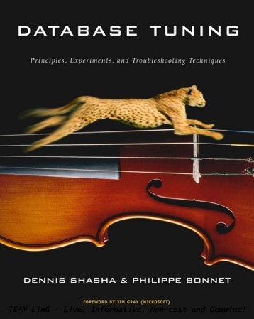 Database tuning principles, experiments - GDM@FUDAN (Graph ...
