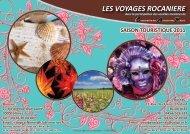 les voyages rocaniere saison touristique 2011 - CAR