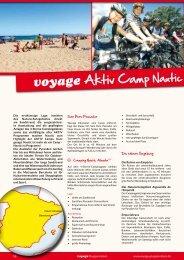 voyage Aktiv Camp Nautic Almata - Voyage Gruppenreisen