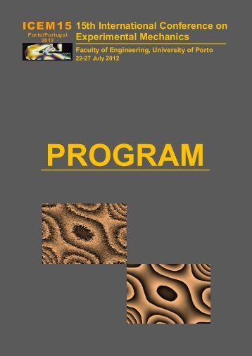 ICEM15 - Faculdade de Engenharia da Universidade do Porto