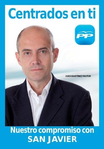 Programa Electoral de San Javier - Partido Popular Murcia