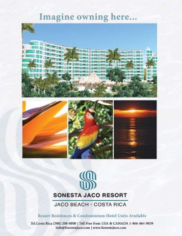 Location of Sonesta Jaco Resort - CONDOS JACO BEACH COSTA ...