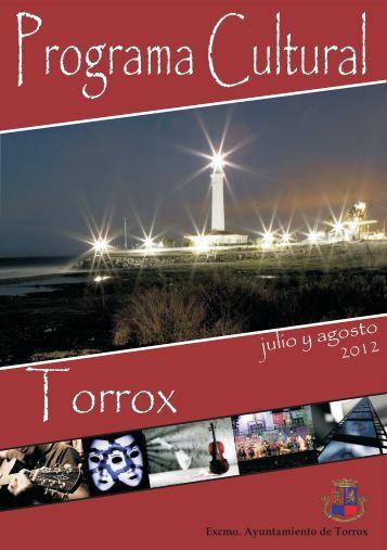 Programa Verano 2012 - Guía turística de Torrox