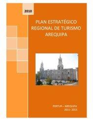 plan estratégico regional de turismo arequipa - Consejo Nacional ...