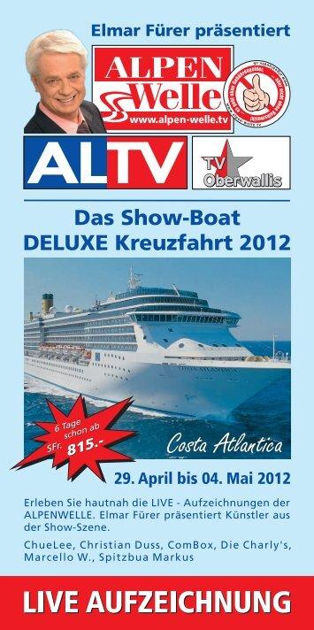 Informationen zur Kreuzfahrt 2012 - ComBox