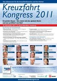 Kreuzfahrt Kongress 2011 - Management Forum der Verlagsgruppe ...