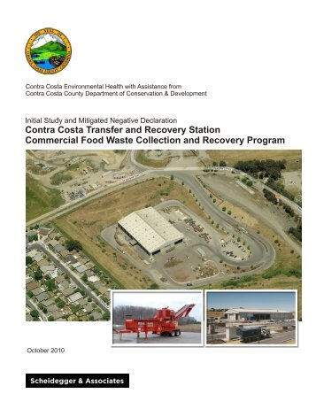 Allied Food Waste and Recovery IS - Contra Costa Health Services