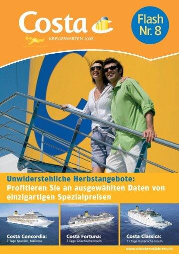 Costa Classica - Baumann Cruises