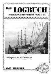 LOGBUCH - Vegesack Maritim