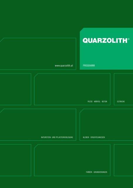 Download - Quarzolith