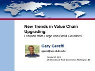 New Trends in Value Chain Upgrading: Lessons from