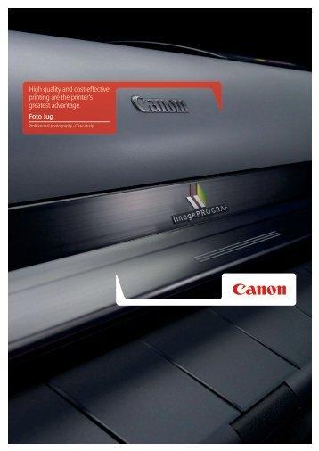 Case Study: Foto Jug - Canon CEE