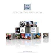 2009 CORPORATE PRESENTATION - FIAT SpA
